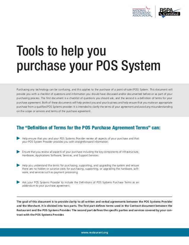 Pos purchasing tools tools to help you purchase your pos system purchasing any technology can be confusing platinumwayz