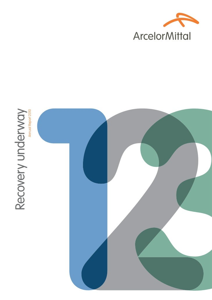 Recovery underway            Annual Report 2010
