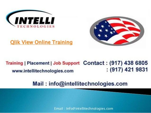 qlik view online training