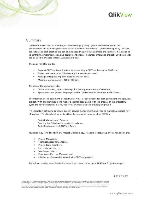 Qlik project methodology handbook v 1.0 docx