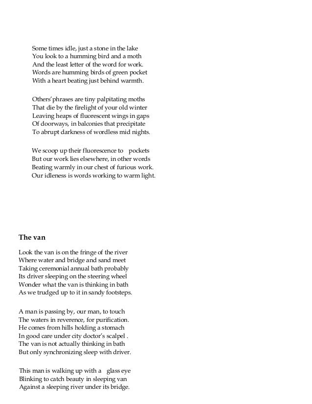 A poem a day written from 2010 to 2013- a compilation