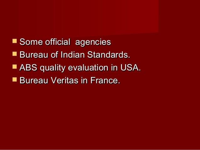 Qm titto sunny for Bureau veritas india