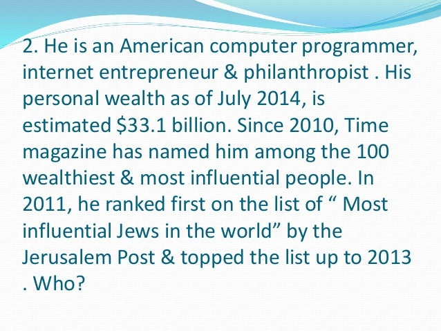5. He is Hungarian-born American  businessman, engineer & author. He is a  science pioneer in the semiconductor  industry....