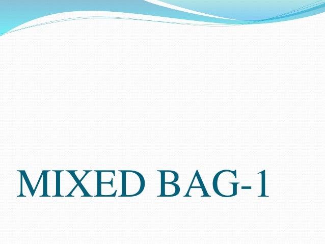 MIXED BAG-1