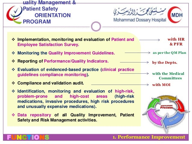 About the Patient Safety Program