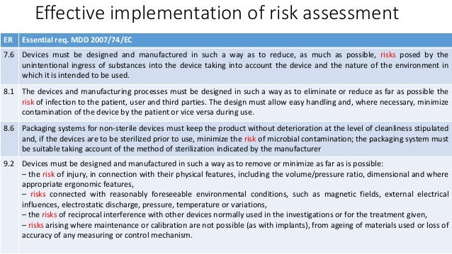 Pecb webinar hands on medical devices risk assessment 24 effective implementation of risk assessment pronofoot35fo Images