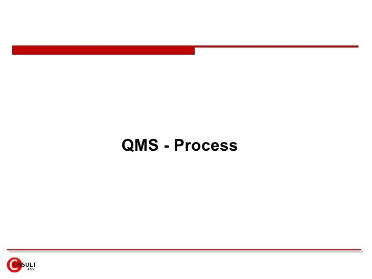 QMS - Process