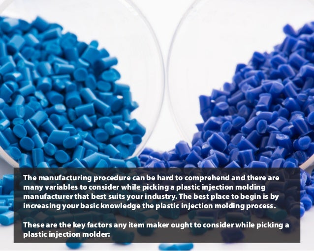The manufacturing procedure can be hard to comprehend and there are many variables to consider while picking a plastic inj...