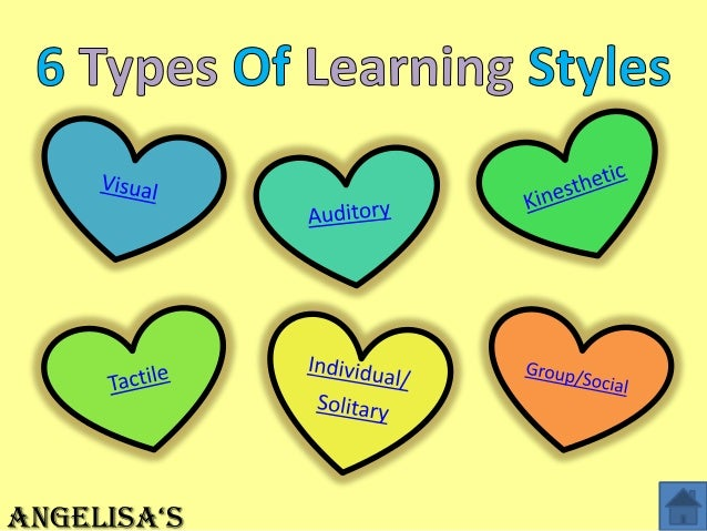 6 Types of Learning Styles