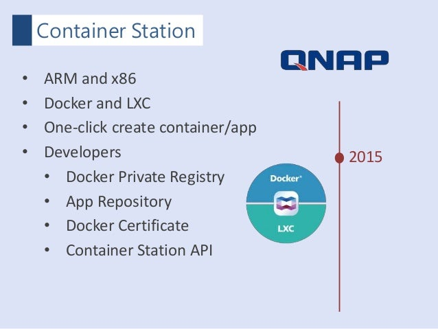 QNAP COSCUP Container Station