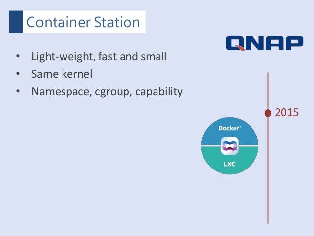 QNAP MOPCON 2015 - 輕鬆打造持續整合開發環境,使用QNAP Docker