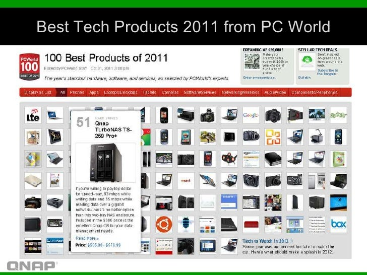 Best Tech Products 2011 from PC World