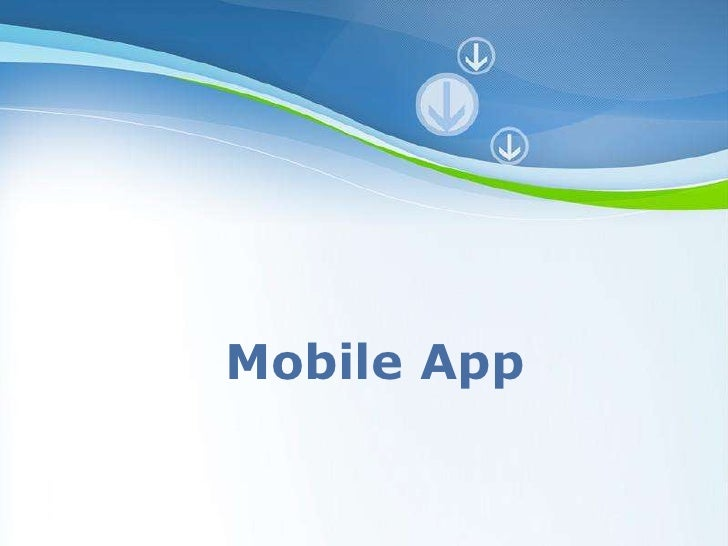 Mobile App Powerpoint Templates                        Page 1