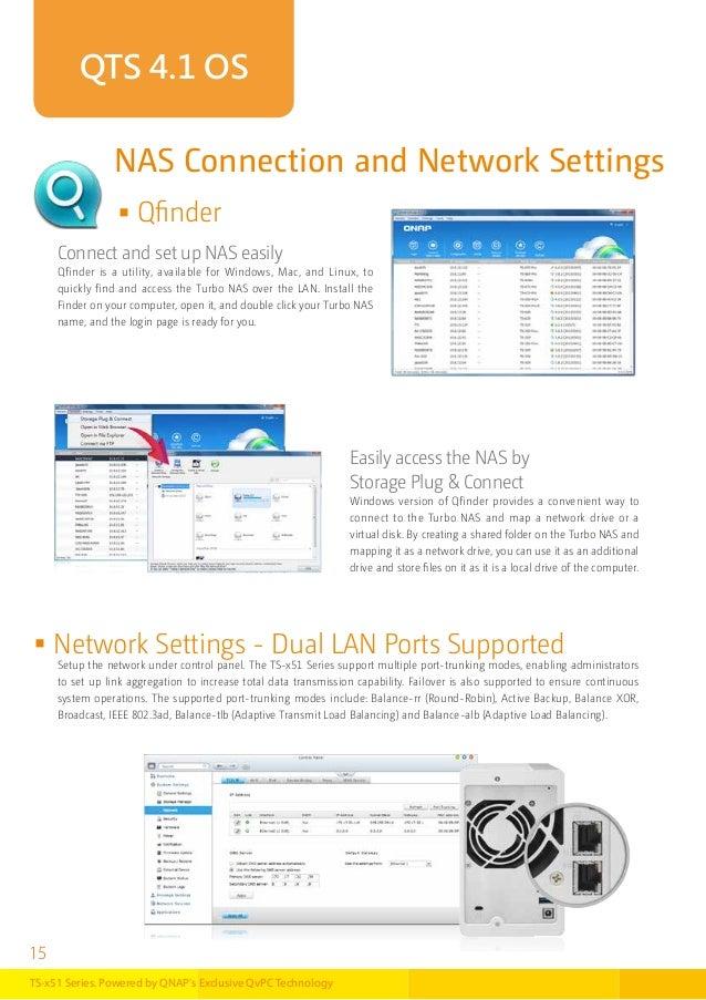 QNAP NAS TS Serie x51-catalogo