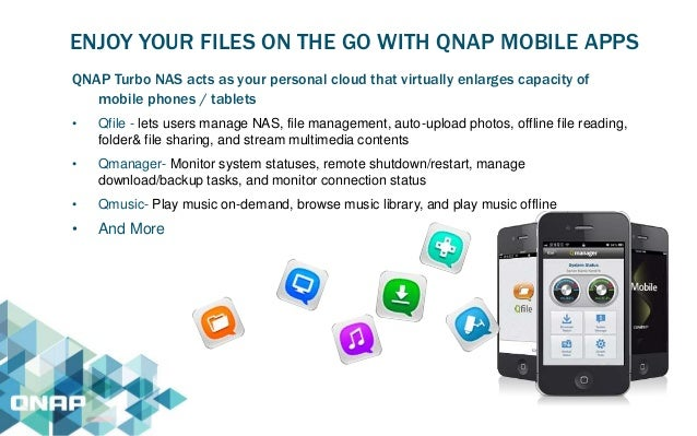 QNAP NAS Presentation The New Era of NAS