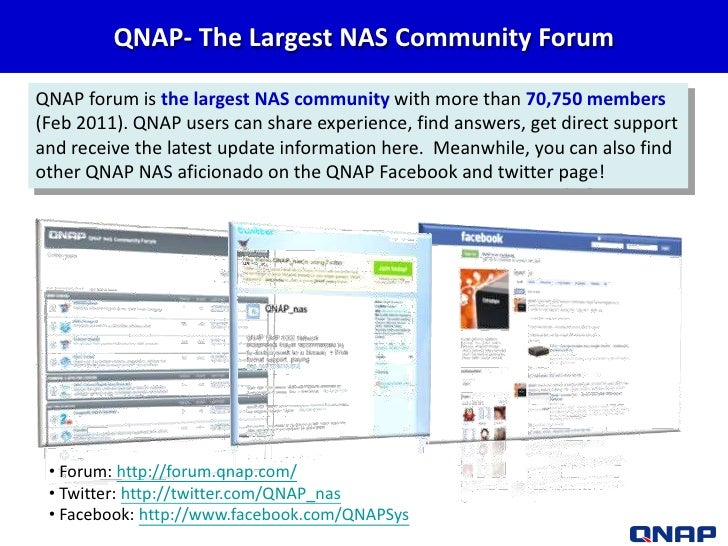 Qnap turbo nas business series presentation 2011