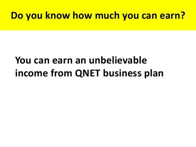 qnet financial plan