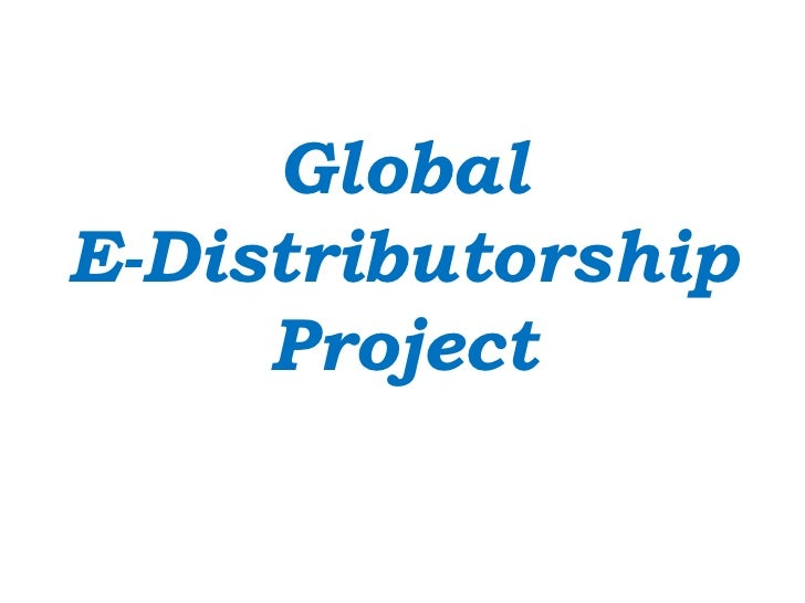GlobalE-Distributorship     Project