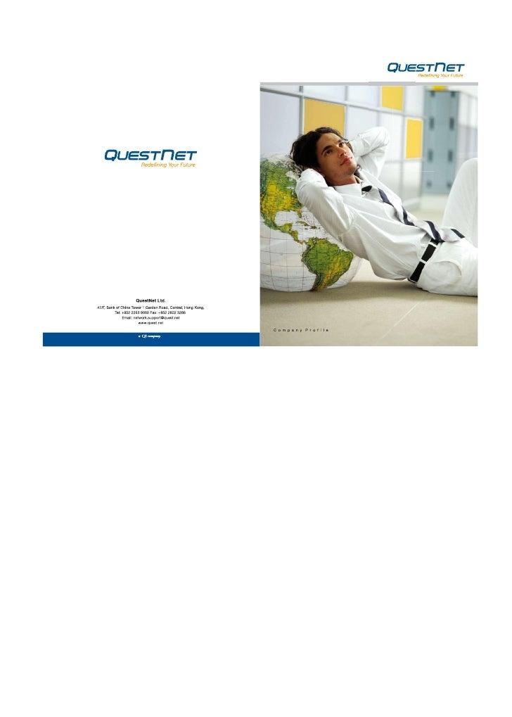 Quest Net Profile