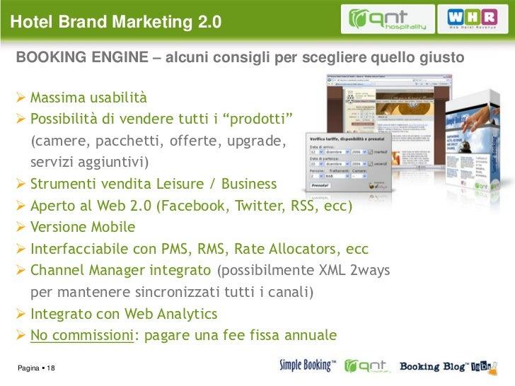 Hotel Brand Marketing 2 0 Come Attuare Una Efficace