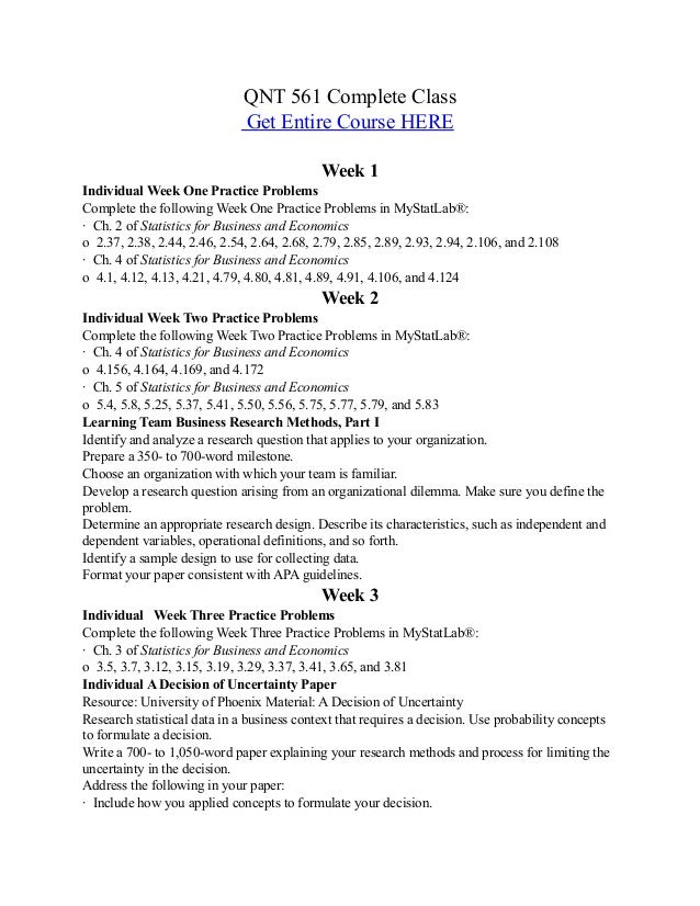 Qnt 561 Week 3 Dq Research Paper Help July 2019 2325 Words