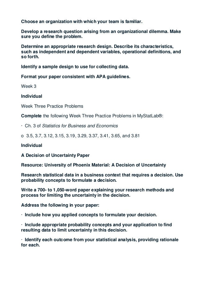 qnt 561 week two practice problems in mystatlab Qnt 561 week 1 practice quiz - 1 what is statistics a it is qnt 561 qnt 561 week 1 practice quiz qnt 351 week 2 individual assignment mystatslab problems.