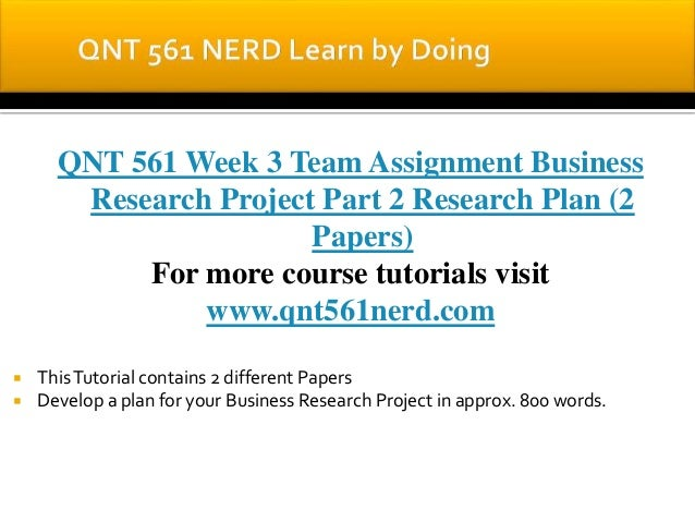QNT 561 NERD Learn by Doing/qnt561nerd.com