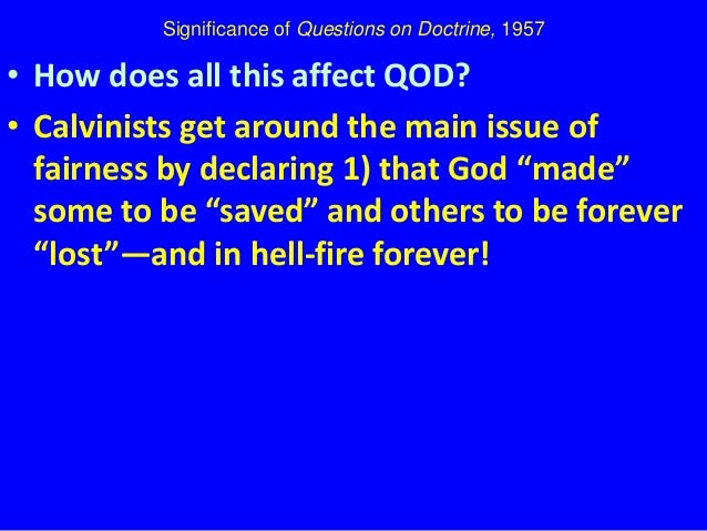 significance of doctrine The biblical importance of the doctrine of preterition geerhardus vos the presbyterian, 70, 36 (september 5, 1900): pp 9-10 one of the gravest symptoms of.