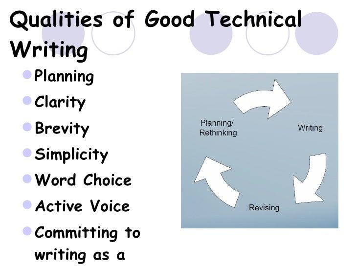 Three qualities of good writing