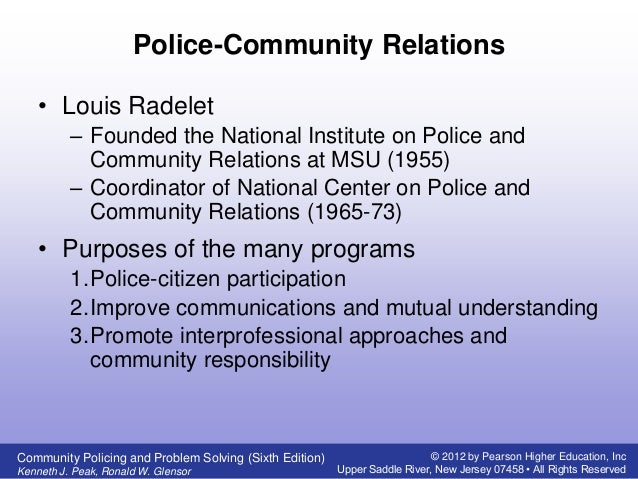 the evolution of policing The evolution of technology in policing in september 2001, less than half the  us population used the internet many smaller or remote law.