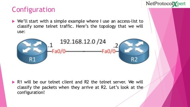 QoS Classification on Cisco IOS Router