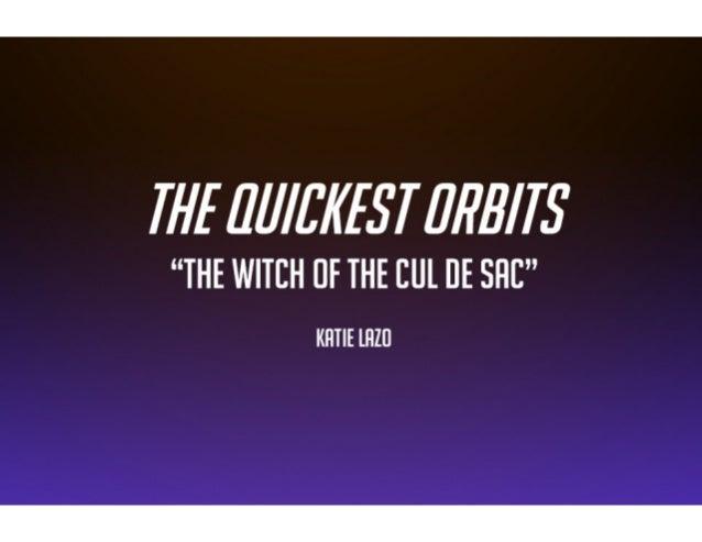 Quickest Orbits - Sneak Scene! Storyboards