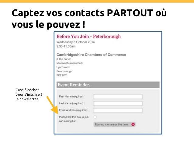 Recueillez les bonnes données ! A quoi l'utilisateur s'inscrit ? 2 call-to-action pour segmenter ses utilisateurs