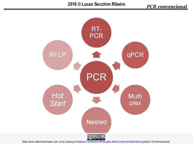 PCRPCR convencionalconvencional  Este obra está licenciado com uma LicençaCreative Commons Atribu...