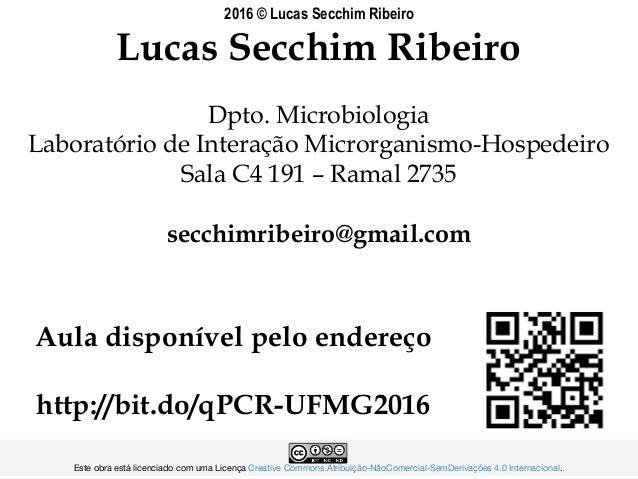 Lucas Secchim Ribeiro Dpto. Microbiologia Laboratório de Interação Microrganismo-Hospedeiro Sala C4 191 – Ramal 2735 secch...