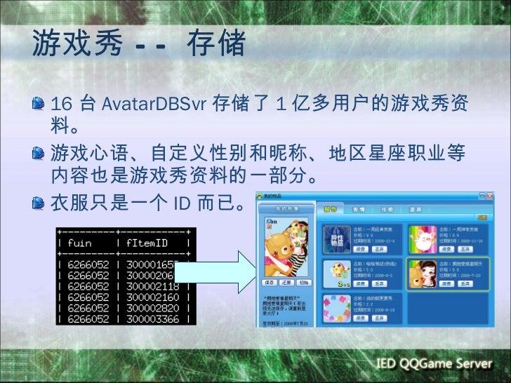 最新qq游戏心语_Qq game后台架构及开发介绍