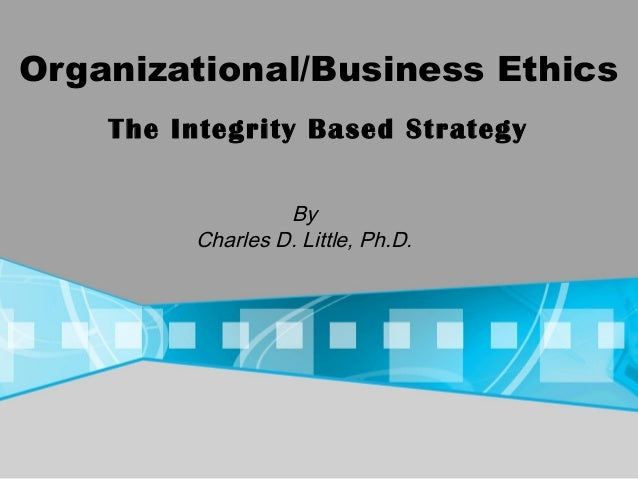 PROGRAMS IN ORGANIZATIONAL ETHICS & COMPLIANCE