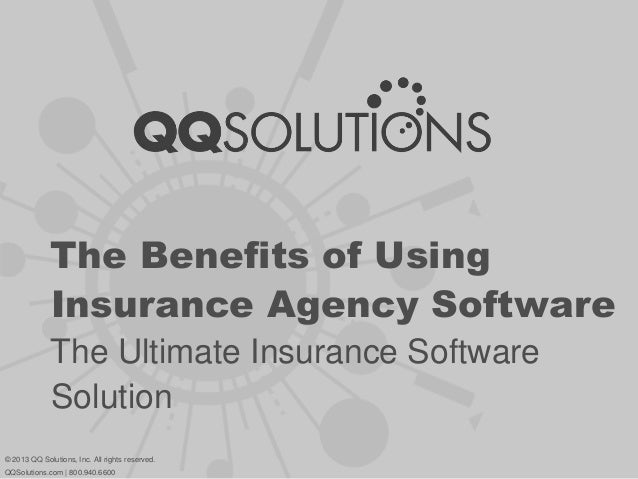 The Benefits of Using Insurance Agency Software - The