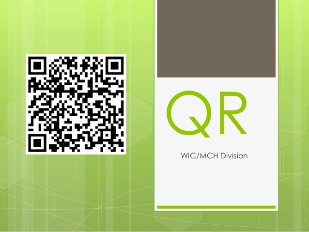QRWIC/MCH Division
