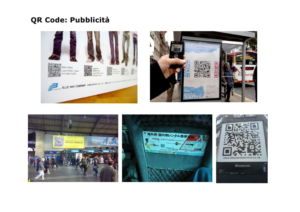 QR Code: Pubblicità