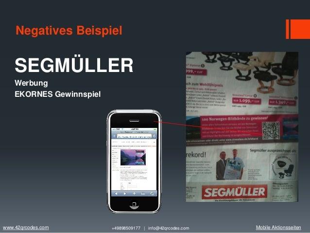 mobile aktionsseiten 4 negatives beispiel segmller werbung - Gute Werbung Beispiele