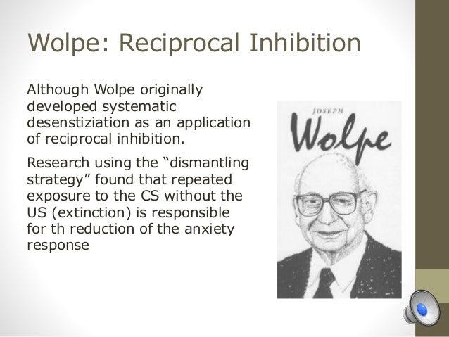 joseph wolpe reciprocal inhibition