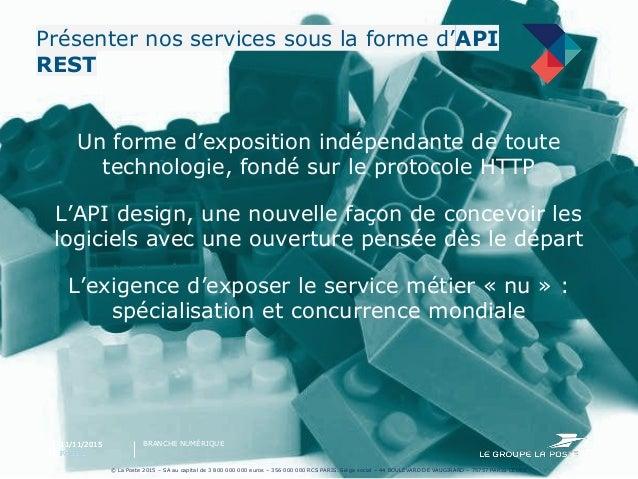 Open Api by La Poste Slide 2