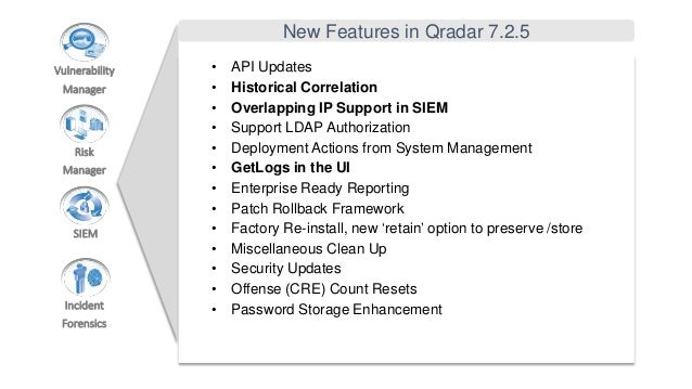 DSS LV - IBM QRadar Security Intelligence 2016 - New Features