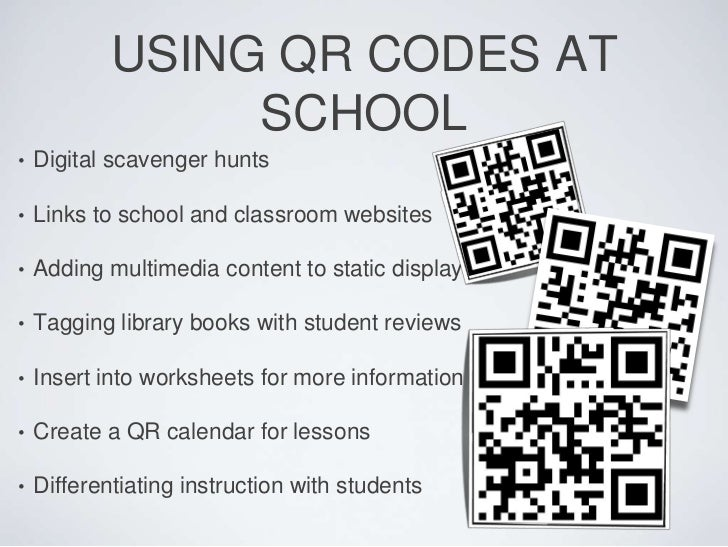 Qr Codes And Augmented Reality