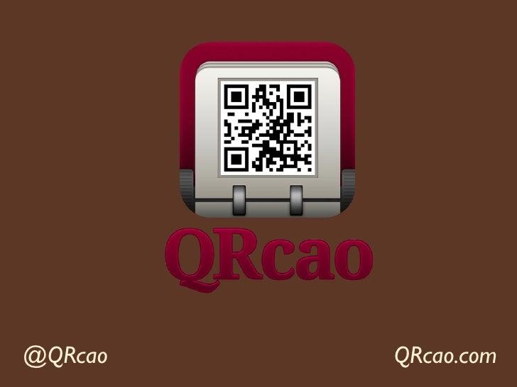 @QRcao   QRcao.com