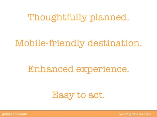Thoughtfully planned.        Mobile-friendly destination.                    Enhanced experience.                         ...