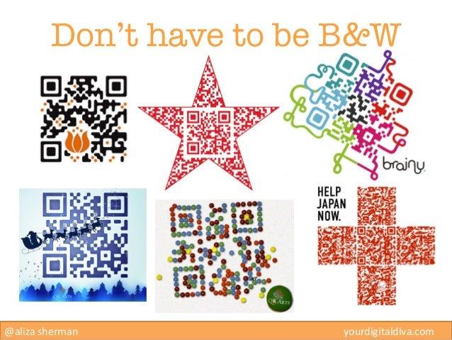 Don't have to be B&W@aliza sherman                                                yourdigitaldiv...