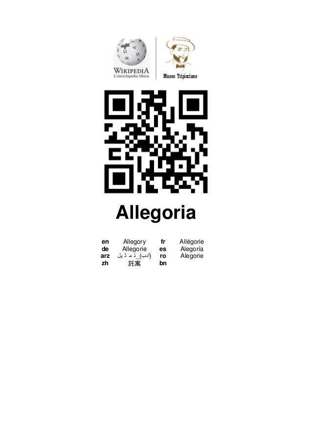 Museo Tripisciano  Allegoria  en  Allegory  fr  Allégorie  de  Allegorie  es  Alegoría  arz  ت م ث يل _(أدب )  ro  Alegori...