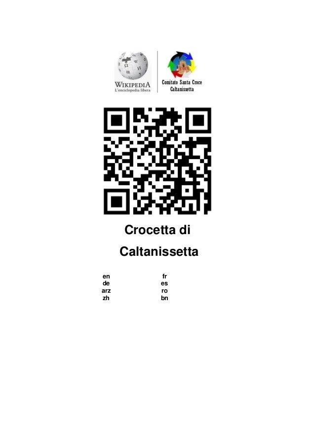 Comitato Santa Croce  Caltanissetta  Crocetta di  Caltanissetta  en  fr  de  es  arz  ro  zh  bn